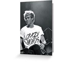 Niall Horan Greeting Card