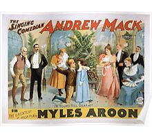 Performing Arts Posters The singing comedian Andrew Mack in the greatest of Irish plays Myles Aroon 1807 Poster