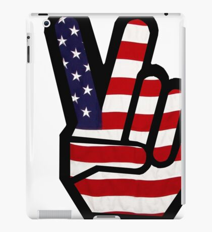 Peace Stars n Stripes iPad Case/Skin
