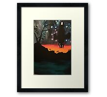 cant take the sky from me Framed Print
