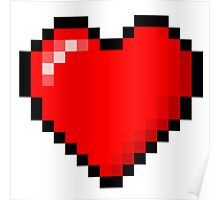 PIXEL HEART TUMBLR Poster