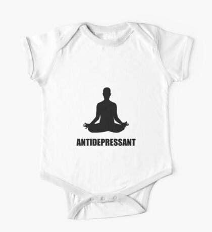 Antidepressant Yoga One Piece - Short Sleeve