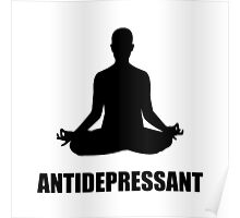 Antidepressant Yoga Poster