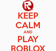 Keep calm and play Roblox Women's Relaxed Fit T-Shirt