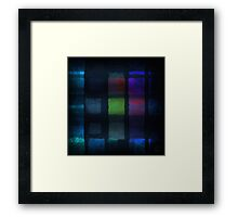 Between the echoes Framed Print