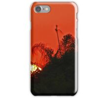 Sunset In The Bush iPhone Case/Skin