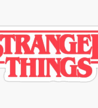 STRANGER THINGS  Sticker