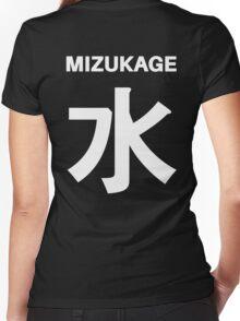 Kage Squad Jersey:  Mizukage Women's Fitted V-Neck T-Shirt