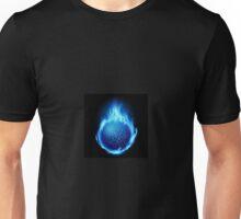 Blue Ball of Fire  Unisex T-Shirt
