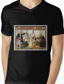 Performing Arts Posters For her childrens sake by Theo Kremer the companion play to The fatal wedding 2993 Mens V-Neck T-Shirt