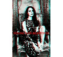 Lana del Rey- Young and Beautiful  Photographic Print