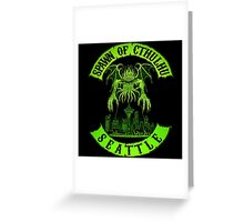 Spawn of Cthulhu - Seattle Greeting Card