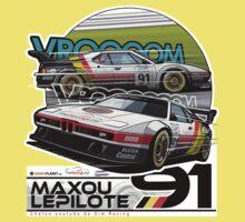 Maxou LePilote - Classic Cars  Kids Tee