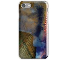 Blue Skies, Red Dots iPhone Case/Skin