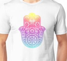 Rainbow Hamsa Unisex T-Shirt