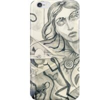 Surreal Maiden with pyramid.  iPhone Case/Skin