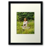 The Questioning Look Framed Print