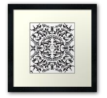 TAKE CONTROL Framed Print