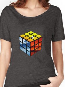 Rubiks Cube Women's Relaxed Fit T-Shirt
