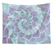Succulent Rhapsody Wall Tapestry
