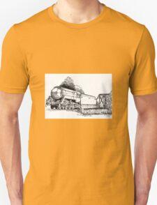 3801 bullet Nose Train Unisex T-Shirt