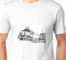 3801 bullet Nose Train Unisex T-Shirt