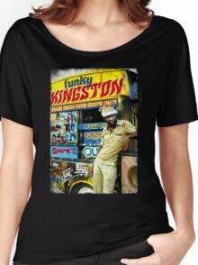 FUNKY KINGSTON Women's Relaxed Fit T-Shirt