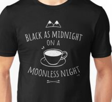 Black as Midnight Unisex T-Shirt