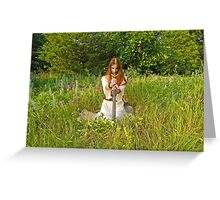 Soul to Sword Greeting Card