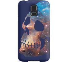 Deep Galaxy Skull Design Samsung Galaxy Case/Skin