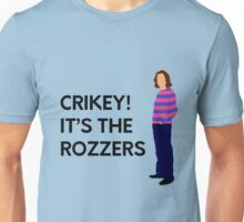 "James May ""Crikey! It's the rozzers"" original design Unisex T-Shirt"