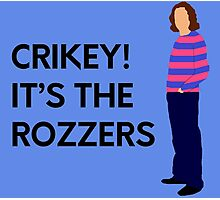 """James May """"Crikey! It's the rozzers"""" original design Photographic Print"""