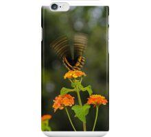 Fluttering butterfly iPhone Case/Skin