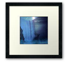 Wildlife in the Moonlight Framed Print