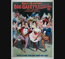 Performing Arts Posters Rice and Bartons Big Gaiety Spectacular Extravaganza Co 0313 Unisex T-Shirt