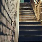 Stairs by jamespaullondon
