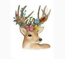 Flower Crown Deer Unisex T-Shirt