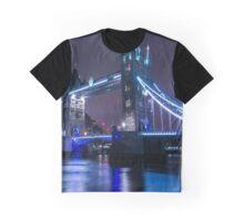 tower bridge by night Graphic T-Shirt