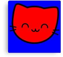 Kawaii Kitty Cats 2048 - tile 8 Canvas Print