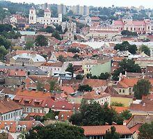 Vilnius - Old Town by Ruta Rudminaite