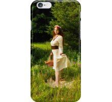 Garden fox iPhone Case/Skin