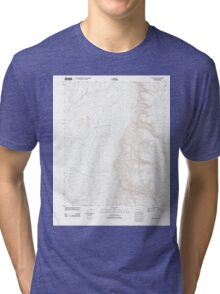 USGS TOPO Map Arizona AZ Olaf Knolls 20111129 TM Tri-blend T-Shirt