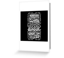 THE SPECIALS SONGS Greeting Card