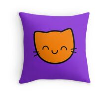 Kawaii Kitty Cats 2048 - tile 16 Throw Pillow