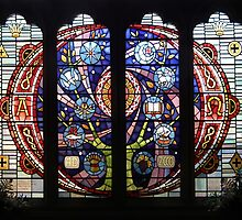 Millenium Stained Glass Window by LydiaBlonde