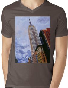 ESB, NYC Mens V-Neck T-Shirt