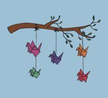 Paper Birds by Ruta Rudminaite
