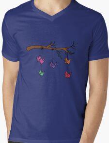 Paper Birds Mens V-Neck T-Shirt