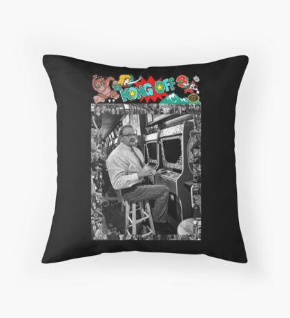 Famous Donkey Kong Player Throw Pillow