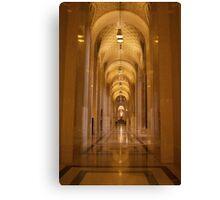 Cathedral Hallway Canvas Print